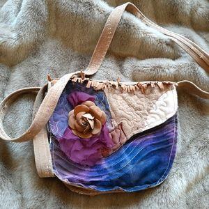 Cute vintage handcrafted boho hippie purse unique